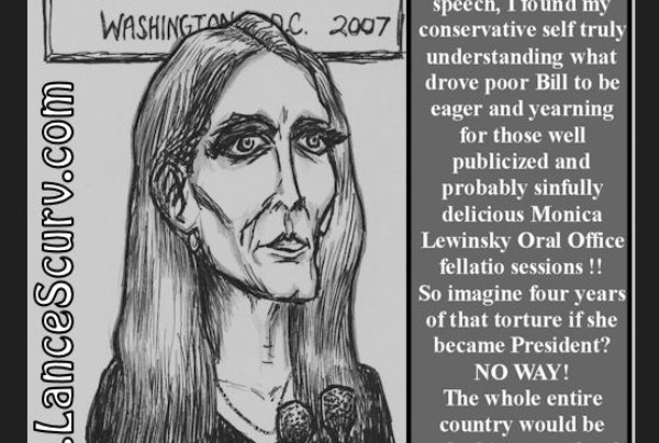 "Ann Coulter – ""A Legend In Her Own Mind!"""