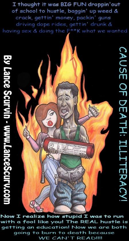 Cause Of Death - Illiteracy!