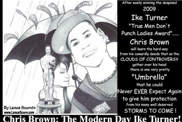 Chris Brown's Umbrella
