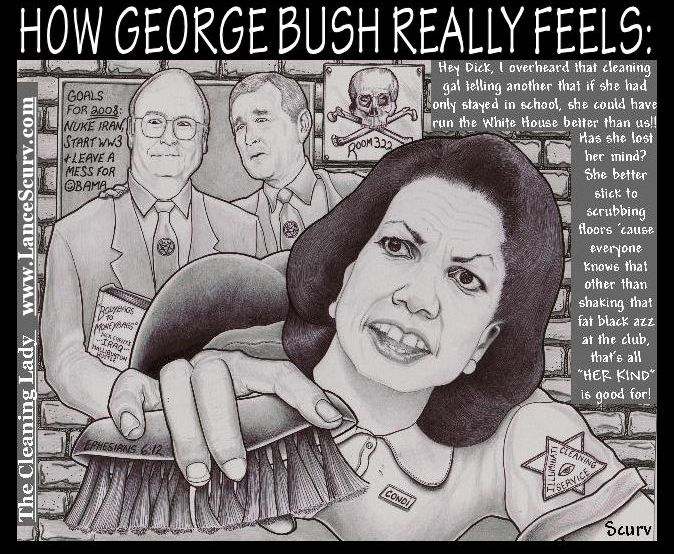 How George Bush Really Feels