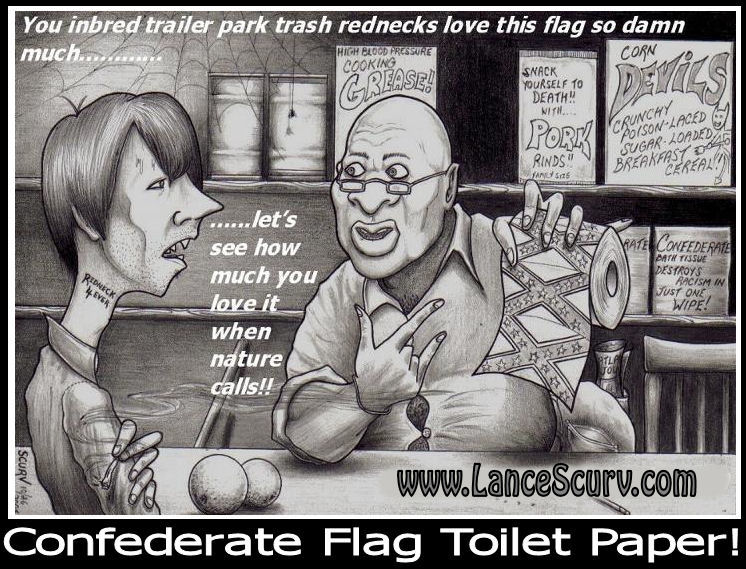 Confederate Flag Toilet Paper