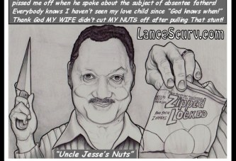Jealous Jesse Jackson