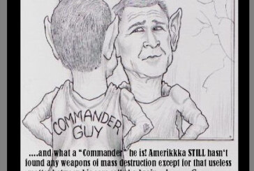 "George Bush: ""The Commander Guy!"""