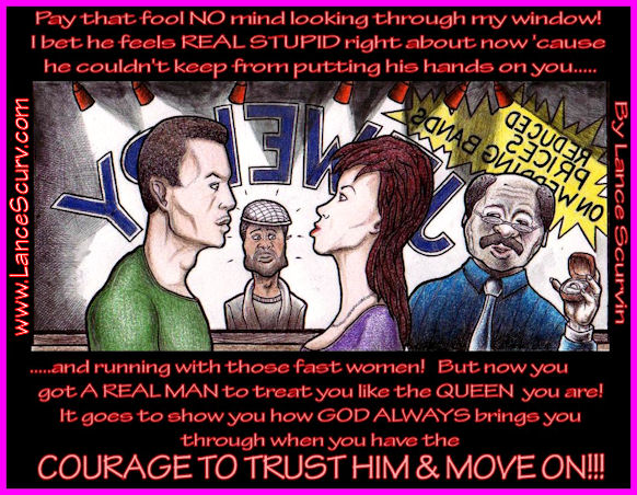 The Courage To Trust Him And Move On!