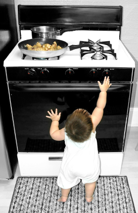 Never Fear The Stove That Burned You Because Fear Will Now Make You Starve To Death From Being Too Afraid To Cook!