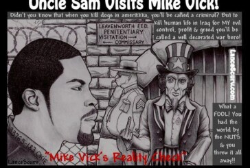 Uncle Sam Visits Mike Vick!