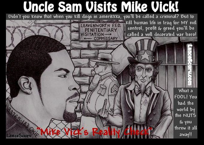 Uncle Sam Visits Mike Vick!