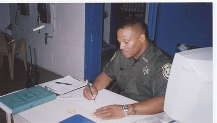 Lance Scurvin At Orange County Corrections Department In Florida