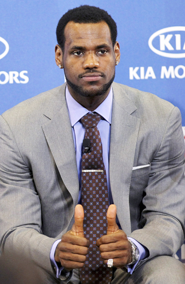 Lebron James: The New Media Target?