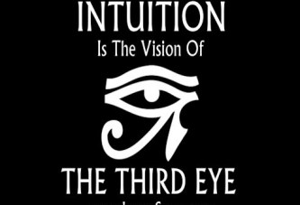 Intuition Is The Vision Of The Third Eye (T-Shirt)