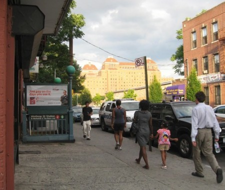 Winthrop Street and Nostrand Avenue Subway Station