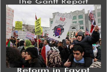 The Gantt Report – Reform in Egypt