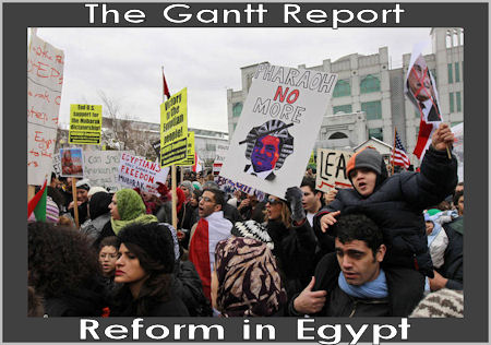 The Gantt Report - Reform in Egypt