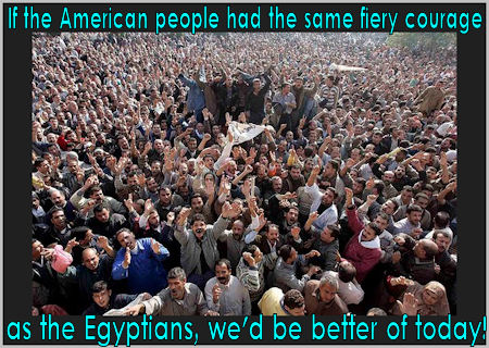 Real Change Will Never Come From A Politician, Just Ask The Egyptians!