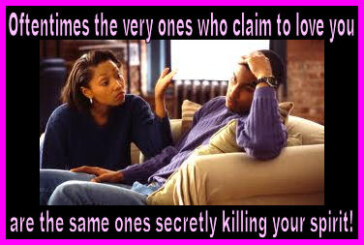 Ladies: You Don't Need That Deadbeat Dreamkiller Of A Mate Blocking Your Way To Live A Productive Fulfilling Victorious Life!