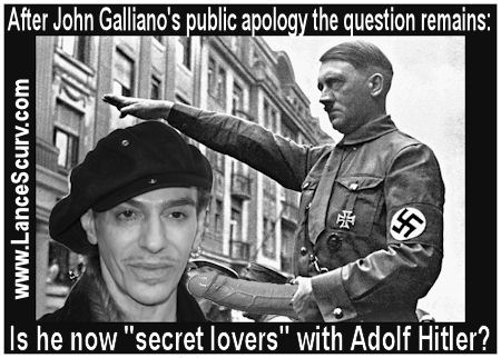 Who Is Fashion Designer John Galliano's Secret Lover? (Warning: Explicit Adult Material)