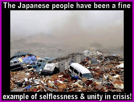 The Exceptional Culture Of The Japanese People And What Americans Need To Learn From Them In The Tragedy Of The Earthquake!