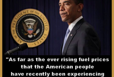 The Funny Pages – What President Obama REALLY Wanted To Say About Rising Gas Prices!