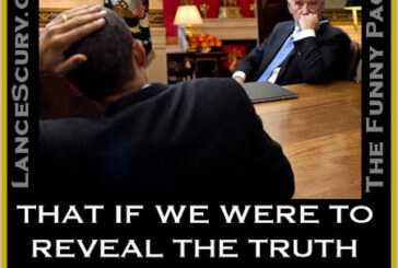 The Funny Pages – President Obama Is Overheard Speaking To Vice-President Joe Biden About Transparency