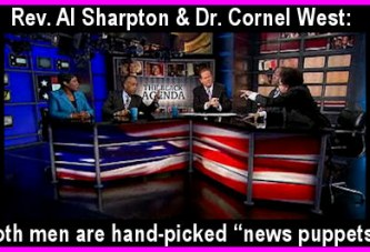 The Gantt Report – The Al Sharpton/Cornel West Circus Show!
