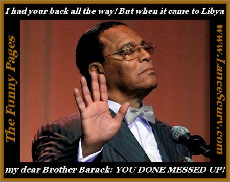 Minister Louis Farrakhan Spanks President Barack Obama!