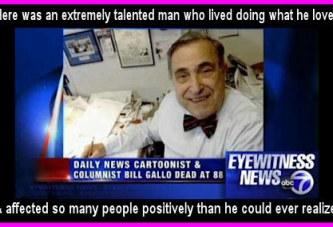 R.I.P. Bill Gallo 1922-2011