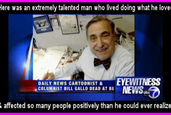 R.I.P. Bill Gallo 1922-2011