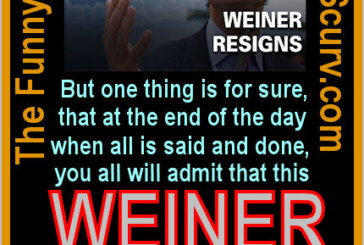 The Funny Pages – Anthony Weiner Resigns