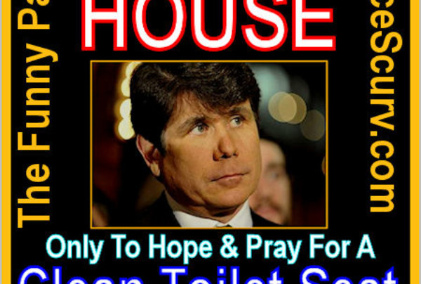 The Funny Pages – Rob Blagojevich's Next Seat
