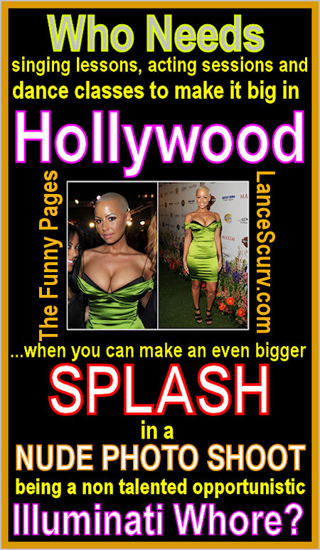 The Funny Pages - Amber Rose Suckcess Secrets!