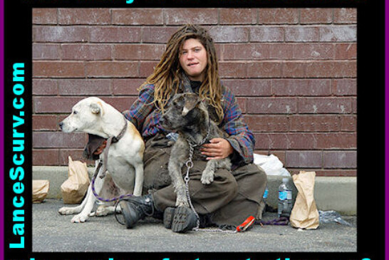 For Many, Homelessness Can Sometimes Be The Only Option!