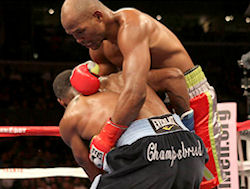 The Funny Pages - Bernard Hopkins Rude Awakening!