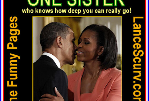 """The Funny Pages – Herman Cain Gets A Response From Michelle Obama On His """"Black Experience"""" Comment!"""