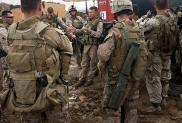 Piss Traumatic Stress Disorder & The U.S. Marine Corp?