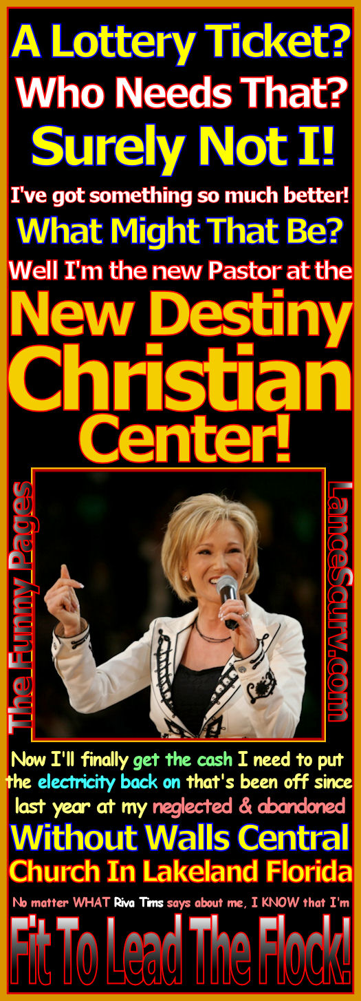 The Funny Pages - Is New Destiny's Paula White Fit To Lead The Flock?