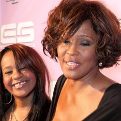 Bobbi Kristina & Mother Whitney Houston