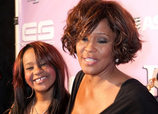 Bobbi Kristina & Mother Whitney Houston