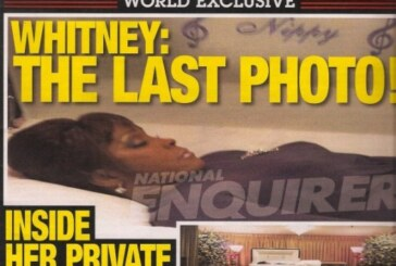 Whitney Houston's Mysterious In House Backstabbing Judas Turns A Profit With Those National Enquirer Coffin Photos!