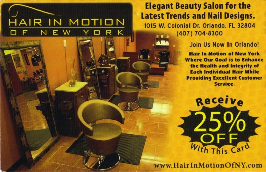 Hair In Motion Of New York