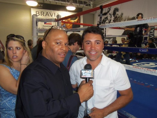 LanceScurv TV - Oscar De La Hoya On The LanceScurv Show!