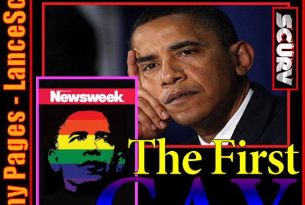 The Funny Pages – The First Gay President?
