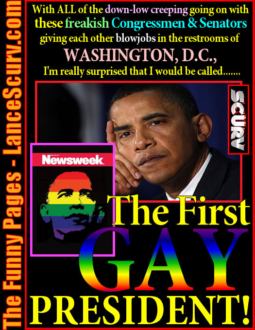 The Funny Pages - The First Gay President?