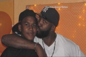 Trayvon Martin & Father