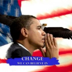 barack obama wallpaper yes we can campaign poster