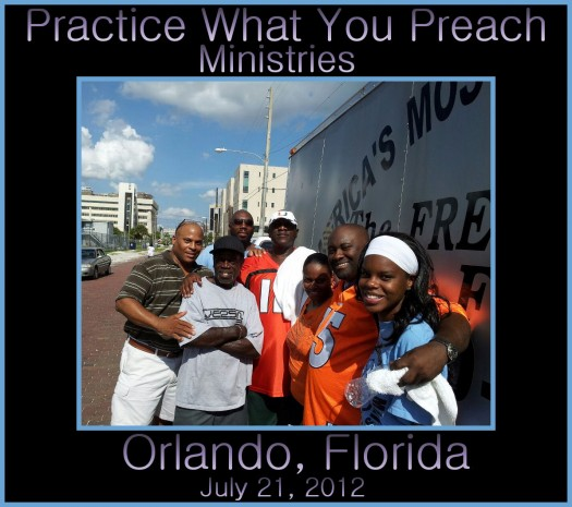 LanceScurv TV - The Practice What You Preach Ministries Homeless Feeding of Orlando Florida