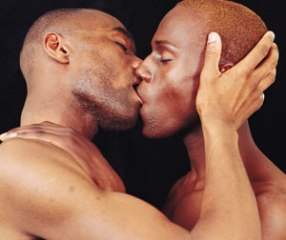 Gay Black Guys Kiss