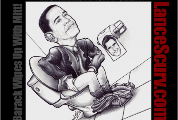 Barack Wipes Up With Mitt!