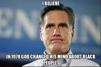 Romney On Blacks