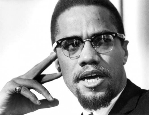 Malcolm X Pointing