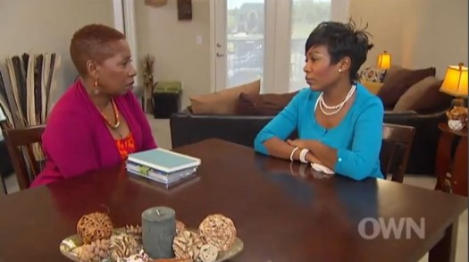 Iyanla talks to a fist lady about her cheating husband/pastor